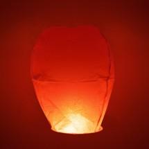 Wensballonnen ovaal rood